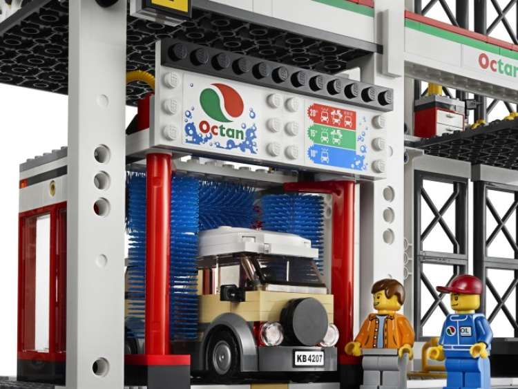lego parking garage instructions