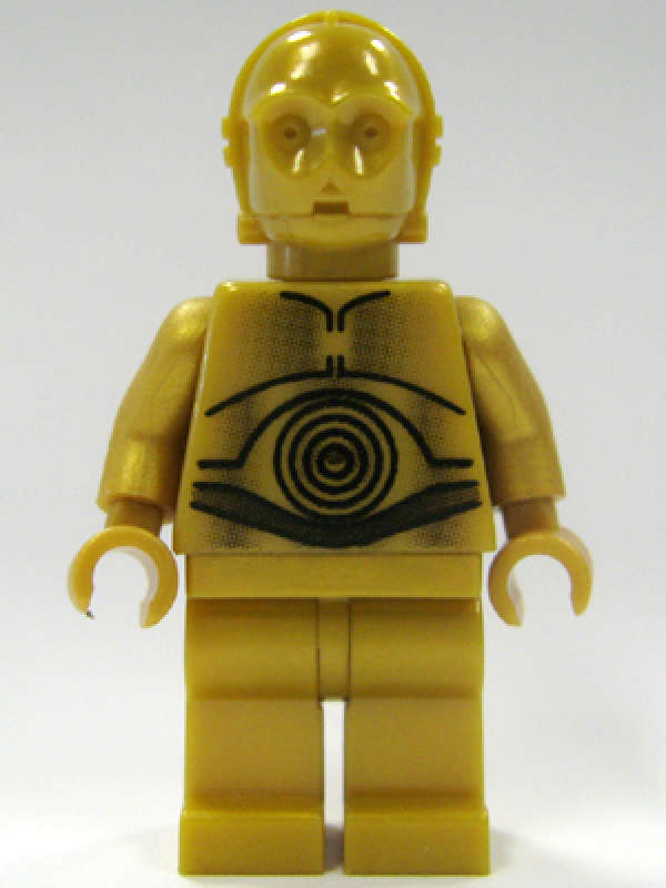 LEGO NEW STAR WARS C-3PO MINIFIGURE MINIFIG PERSON FIGURE DROID FIG