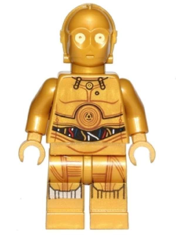 Lego genuine minifigure c3po star wars